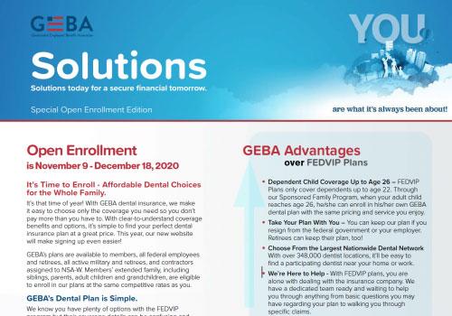 GEBA Solutions Newsletter