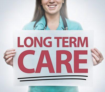 LONG TERM CARE / Medicine concept (Click for more)